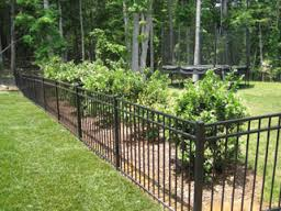 Offer aluminum or steel fence - install services