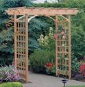 Offer arbor, pergola, or trellis - build services