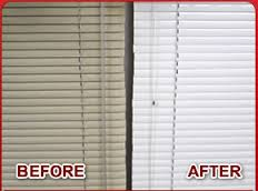 Offer blinds cleaning services