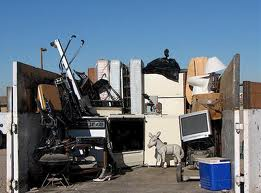 Offer junk removal services