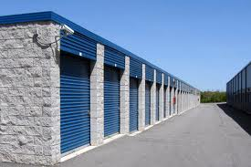 Offer self storage services