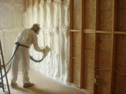Offer spray foam insulation services