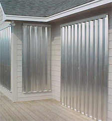 Offer storm shutters services