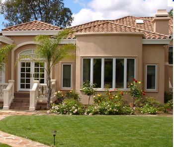 Offer traditional stucco siding - repair services