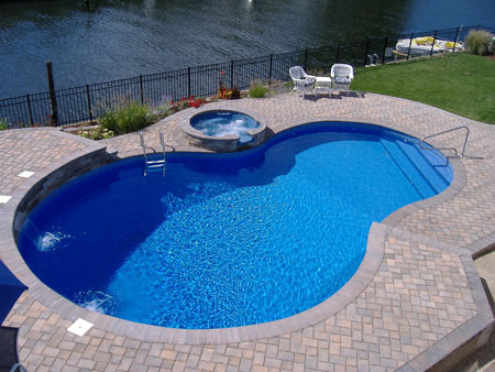 swimming pool decks and patios