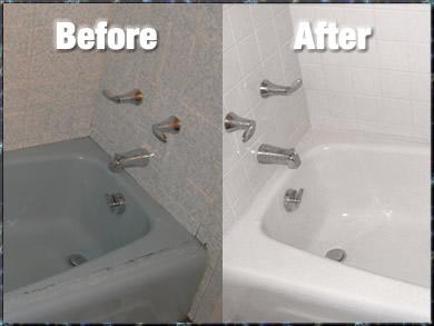 Offer tub reglaze services