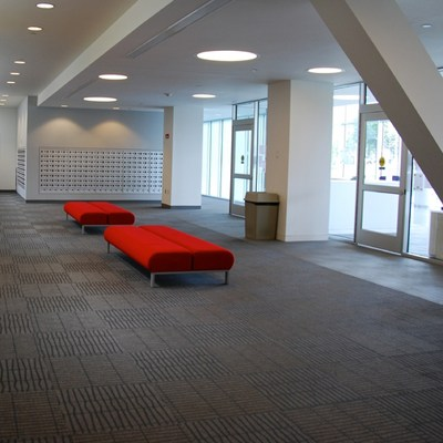 Offer commercial floor coverings services