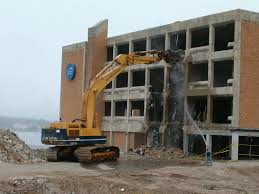 commercial demolition and disposal
