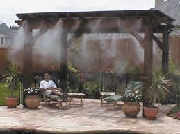 outdoor mist cooling system - repair