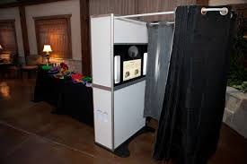 Offer photo booth rental services