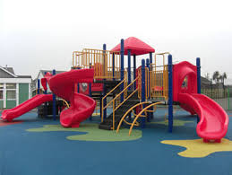 Offer play equipment - build services
