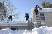 Offer roof snow removal services