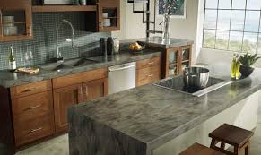 Offer solid surface (corian, concrete, etc.) - install services